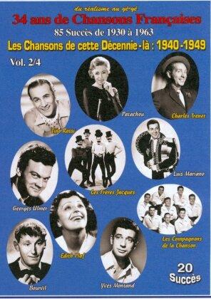 Various Artistes - Les Chansons de cette Décennie-là : 1940-1949 Vol. 2/4 (s/w)