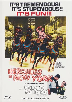 Hercules in New York - Cover C (1970) (Limited Collector's Edition, Mediabook, Blu-ray + DVD)