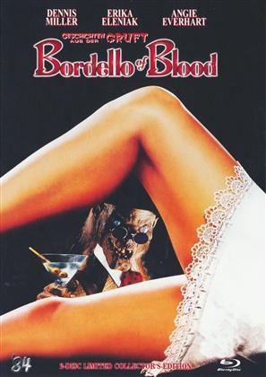 Bordello of Blood - Geschichten aus der Gruft (1996) (Cover A, Limited Edition, Mediabook, Uncut, Blu-ray + DVD)