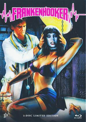 Frankenhooker (1990) (Cover A, Limited Edition, Mediabook, Uncut, Blu-ray + DVD)