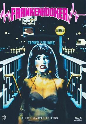 Frankenhooker (1990) (Cover B, Limited Edition, Mediabook, Uncut, Blu-ray + DVD)