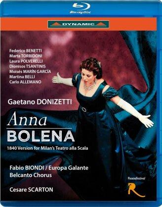 Orchestra Europa Galante, Fabio Biondi, … - Donizetti - Anna Bolena (Dynamic)