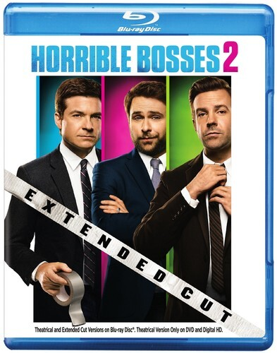 Horrible Bosses 2 (2014) (Extended Edition, Blu-ray + DVD)