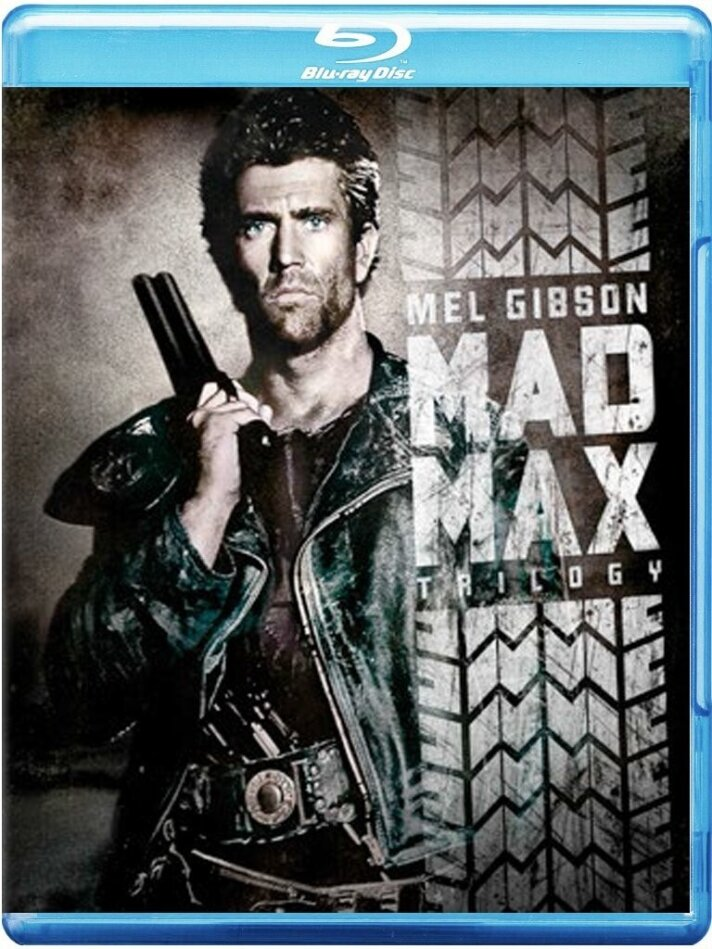 Mad Max Collection - Mad Max 1-3 (3 Blu-ray)