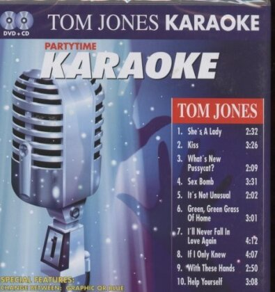 Karaoke - Partytime - Tom Jones (DVD + CD)