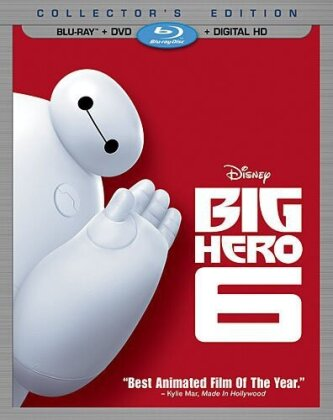 Big Hero 6 (2014) (Blu-ray + DVD)
