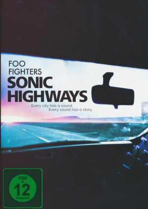 The Foo Fighters - Sonic Highways (4 DVD)
