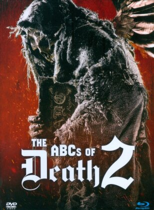 The ABCs of Death 2 (2014) (Limited Edition, Mediabook, Blu-ray + DVD)