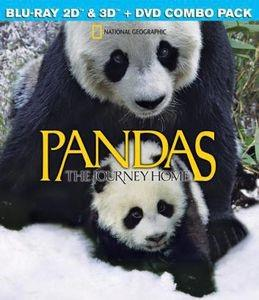 National Geographic - Pandas: The Journey Home 3D (Blu-ray 3D (+2D) + Blu-ray + DVD)