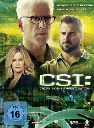 CSI - Las Vegas - Staffel 14.1 (Limited Edition, 3 DVDs)