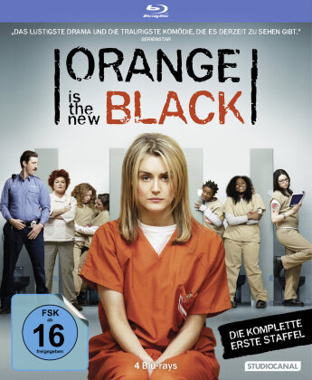Orange is the new Black - Staffel 1 (4 Blu-rays)