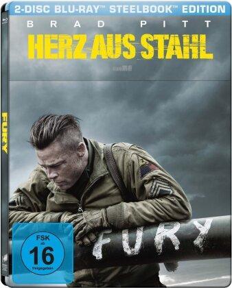 Herz aus Stahl (2014) (4K Mastered, Steelbook, 2 Blu-rays)