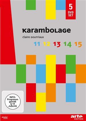 Karambolage 11-15 (Arte Edition, 5 DVDs)