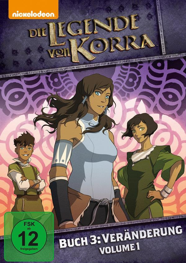 Die Legende von Korra - Buch 3: Veränderung - Vol. 1