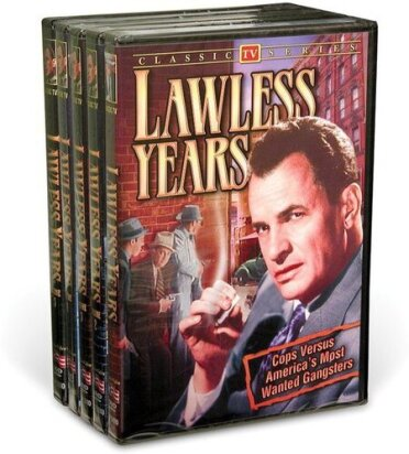 Lawless Years - Vol. 1 - 5 (s/w, 5 DVDs)