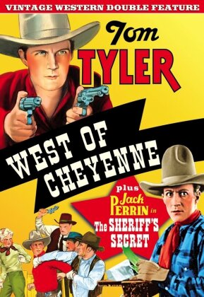 West of Cheyenne / The Sheriff's Secret - (Vintage Western Double Feature)