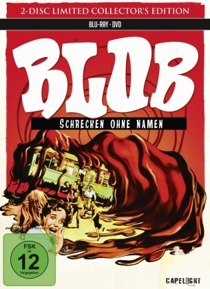 Blob - Schrecken ohne Namen (1958) (Collector's Edition Limitata, Mediabook, Blu-ray + DVD)