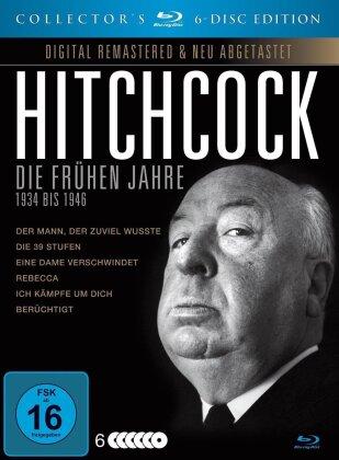 Alfred Hitchcock - Die frühen Jahre - 1934 bis 1946 (s/w, Collector's Edition, Remastered, 6 Blu-rays)