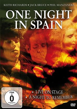 Jack Bruce, Keith Richards & Phil Manzanera (Roxy Music) - One Night in Spain