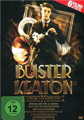 Buster Keaton - 6 Spielfilme Box (s/w)