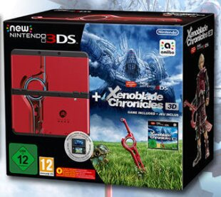 New Nintendo 3DS Bundle - Xenoblade Chronicles + Coverplate