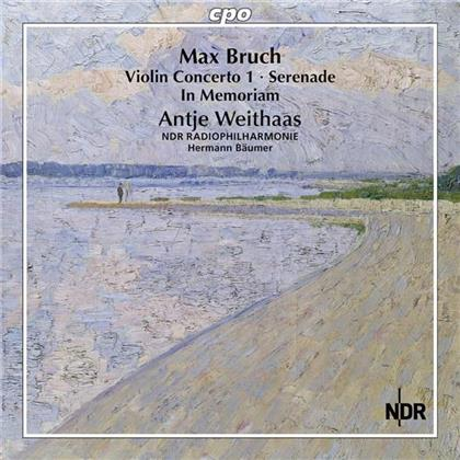 Max Bruch (1838-1920), Hermann Bäumer, Antje Weithaas & NDR Radiophilharmonie Hannover - Antje Weithaas Plays Max Bruch Vol. 2