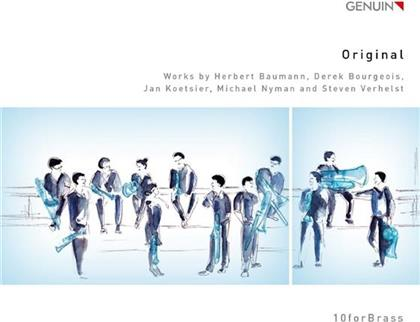 10forBrass, Steven Verhelst (*1981), Derek Bourgeois (*1941), Herbert Baumann, Jan Koetsier, … - Original - 10froBrass Fanfare, William And Mary, Ottoni Per, Brass Symphony, For John Cage
