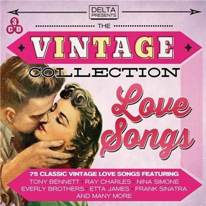 Vintage Collection - Various Love Songs (3 CDs)