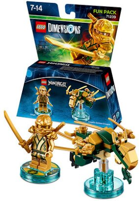 LEGO Dimensions Fun Pack Ninjago - Lloyd