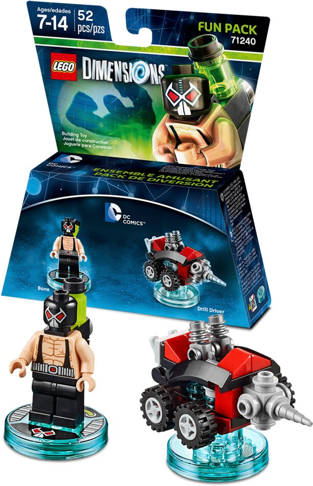 LEGO Dimensions Fun Pack DC - Comics Bane