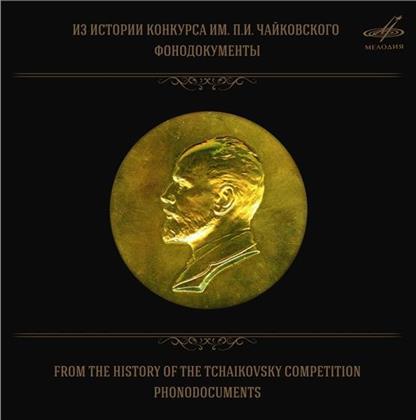Boris Pergamenschikow, Natalia Shakhovskaya, Tamara Sinyavskaya, Vladimir Ashkenazy, Evgeny Nesterenko, … - From The History Of The Tchaikowsky Competition (10 CDs)