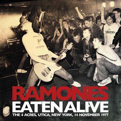 Ramones - Eaten Alive - Live Broadcasts 1976-78 - White Vinyl (2 LPs)