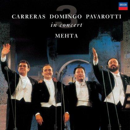 Zubin Mehta, Luciano Pavarotti, Placido Domingo & José Carreras - Three Tenors (25th Anniversary Edition, LP)