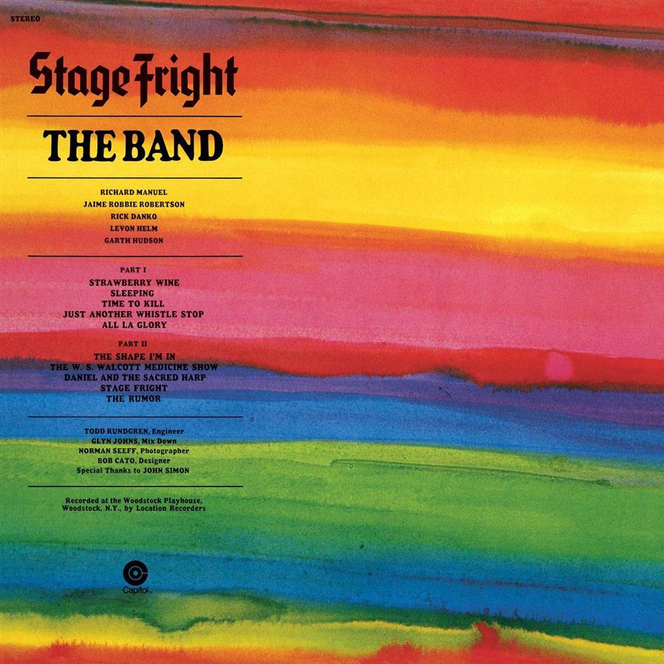 The Band - Stage Fright (New Version, LP + Digital Copy)
