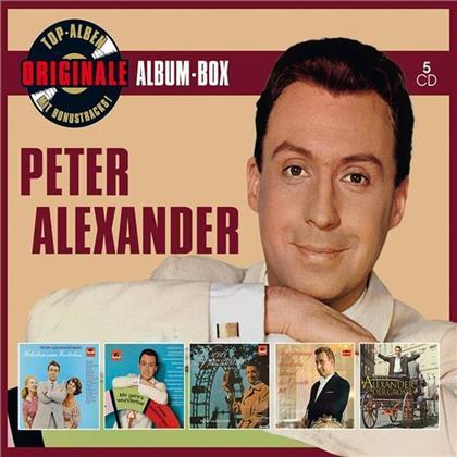 Peter Alexander - Originale Album-Box (5 CDs)