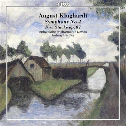 August Klughardt (1847-1902), Antony Hermus & Anhaltische Philharmonie Dessau - Symphony No. 4 Op. 57 In C Minor