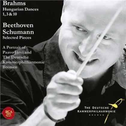 Johannes Brahms (1833-1897), Paavo Järvi & Deutsche Kammerphilharmonie Bremen - Hungarian Dances 1, 3, 10-The Portrait Of