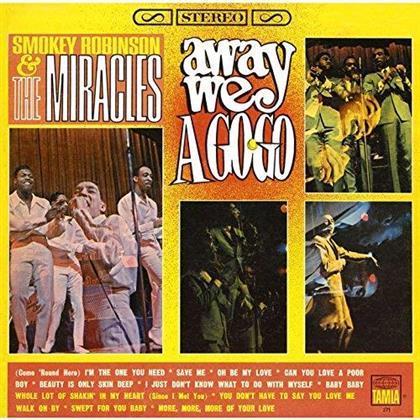 Smokey Robinson - Away We A Go Go - Reissue