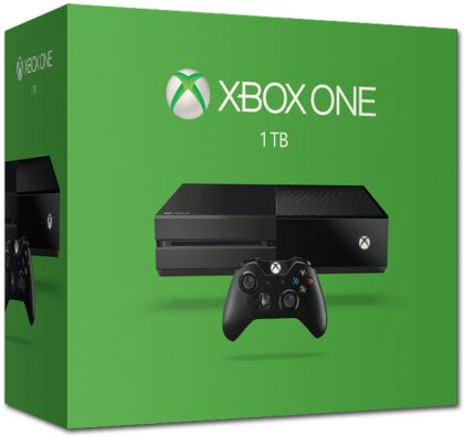 XBOX ONE Console 1 TB (Swiss Edition)