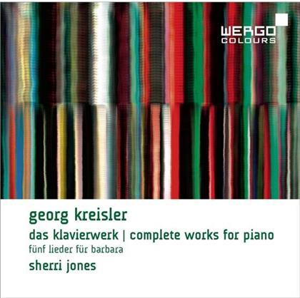 Sherri Johnes & Georg Kreisler - Klavierwerk