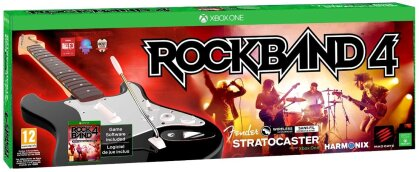 Rock Band 4: Fender Stratocaster Bundle