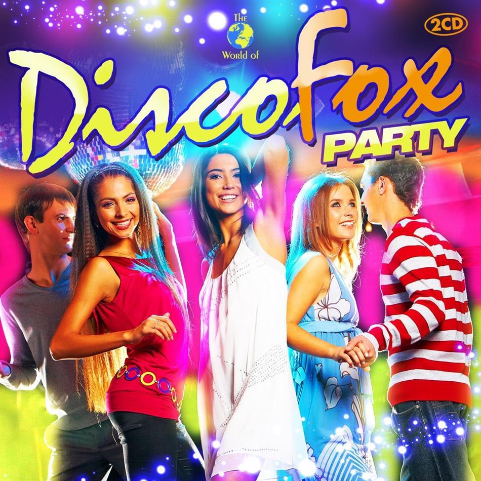 Disco Fox Party - Various 2015 (2 CDs)