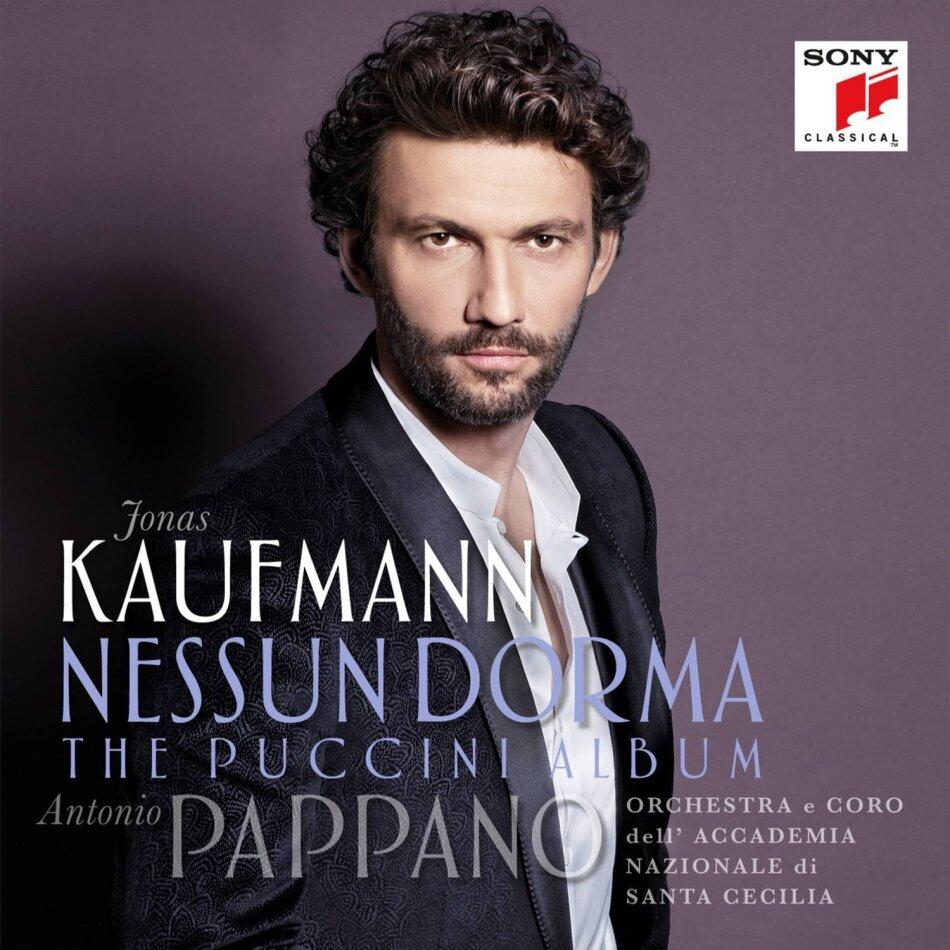 Orchestra e Coro dell' Accademia Nazionale di Santa Cecilia, Giacomo Puccini (1858-1924), Antonio Pappano & Jonas Kaufmann - Nessun Dorma - The Puccini Album (2 LPs)