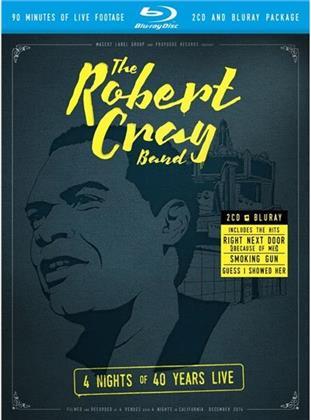Robert Cray - 4 Nights Of 40 Years Live (2 CDs + Blu-ray)