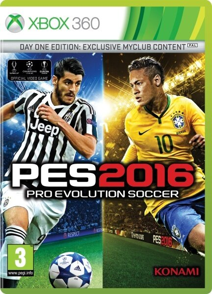 PES 2016 - Pro Evolution Soccer 2016 (Day 1 Edition) (Day One Edition)
