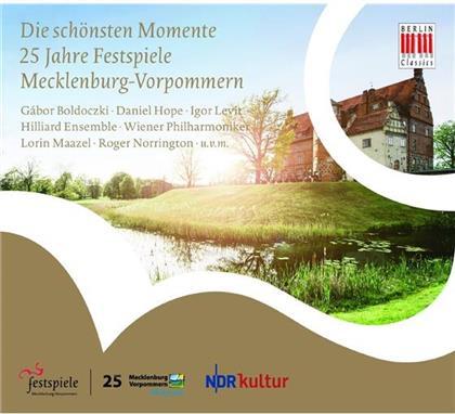Lorin Maazel, Sir Roger Norrington, Gabor Boldoczki, Daniel Hope, Igor Levit, … - 25 Jahre Festspiele Mecklenburg-Vorpommern Die Schönsten Momente (2 CDs)