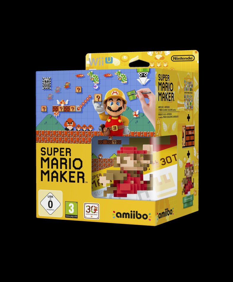 Super Mario Maker + amiibo Figure