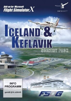 Iceland & Keflavik Scenery Pack für FSX [Add-On]