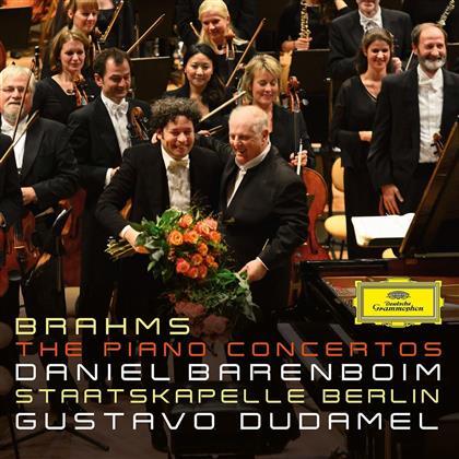 Johannes Brahms (1833-1897), Gustavo Dudamel, Daniel Barenboim & Staatskapelle Berlin - The Piano Concertos (2 CDs)