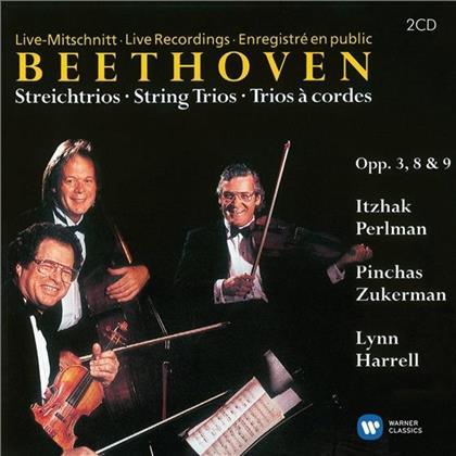 Itzhak Perlman, Ludwig van Beethoven (1770-1827), Itzhak Perlman, Pinchas Zuckerman & Lynn Harrell - Streichtrios Op.3,8,9 - ITZHAK PERLMAN EDITION 48 (2 CDs)